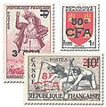 nr. 307/319 -  Stamp Reunion Mail