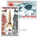 n.o 48 / 49 -  Sello San Pedro y Miquelón Correo aéreo
