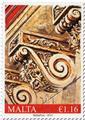 n° 1857 - Timbre MALTE Poste