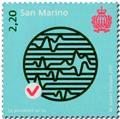 n° 2521/2523 - Timbre SAINT-MARIN Poste