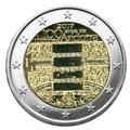 BU : 2 EURO COMMEMORATIVE 2017 (ANDORRE) : 100EME ANNIVERSAIRE DE L´HYMNE D´ANDORRE
