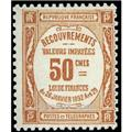 n.o 47 -  Sello Francia Tasa