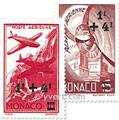 nr. 8/12 -  Stamp Monaco Air Mail