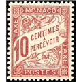 nr. 3 -  Stamp Monaco Revenue stamp