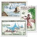 nr. 302/304 -  Stamp New Caledonia Mail