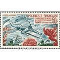 n° 14 -  Selo Polinésia Correio aéreo