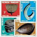 n° 4/7 -  Timbre Polynésie Taxe
