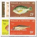 n.o 259/263 -  Sello Wallis y Futuna Correos