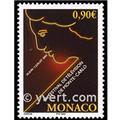 n° 2396 -  Selo Mónaco Correios