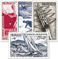 n.o 32 / 35 -  Sello Mónaco Correo aéreo
