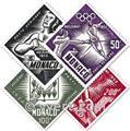n° 51/54 -  Timbre Monaco Poste aérienne