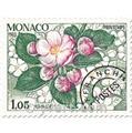 n° 78/81 -  Selo Mónaco Pré-obliterados