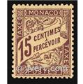 nr. 5 -  Stamp Monaco Revenue stamp