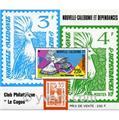 n.o 7 -  Sello Nueva Caledonia Bloque y hojitas