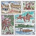 n.o 47 / 51 -  Sello Polinesia Correos