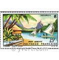 nr. 9 -  Stamp Polynesia Air Mail