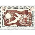 n.o 358 -  Sello San Pedro y Miquelón Correos