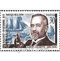 n.o 368 -  Sello San Pedro y Miquelón Correos