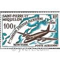 n° 31 -  Timbre Saint-Pierre et Miquelon Poste aérienne