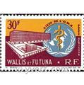 n° 27 -  Timbre Wallis et Futuna Poste aérienne