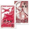 n° 8/12 -  Timbre Monaco Poste aérienne