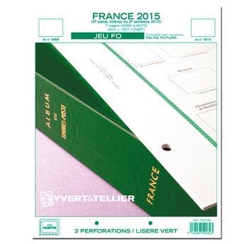 FRANCE FO : 2015 - 2E SEMESTRE (jeux sans pochettes)