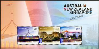 n° 200 - Timbre AUSTRALIE Blocs et feuillets