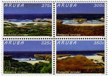 n° 871 - Timbre ARUBA Poste