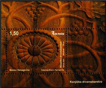 n° 54 - Timbre BOSNIE-HERZEGOVINE Blocs et feuillets