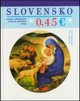 n° 677 - Timbre SLOVAQUIE Poste