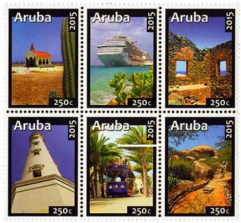 n° 883 - Timbre ARUBA Poste