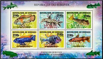 n° 2283 - Timbre BURUNDI Poste