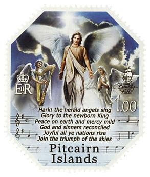 n° 857 - Timbre PITCAIRN Poste