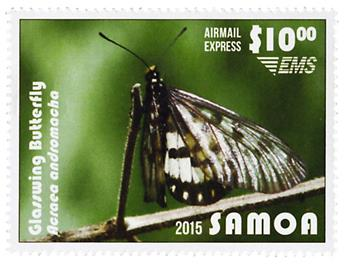 n° 11/14 - Timbre SAMOA Poste aérienne