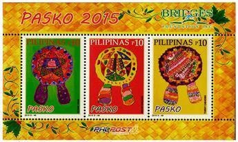 n° 355 - Timbre PHILIPPINES Blocs et feuillets