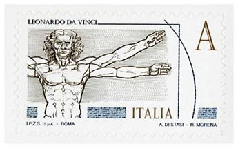 n° 3593/3596 - Timbre ITALIE Poste