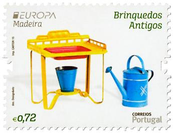 n° 363 - Timbre MADERE Poste (EUROPA)