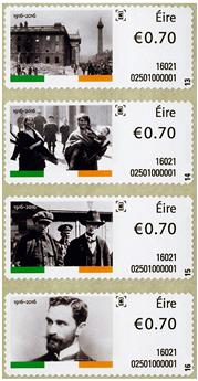 n° 65/80 - Timbre IRLANDE Timbres de distributeurs