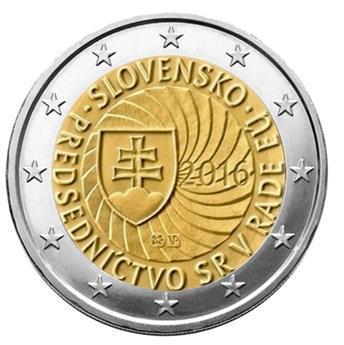 2 EURO COMMEMORATIVE 2016 : SLOVAQUIE (Présidence de l´UE)