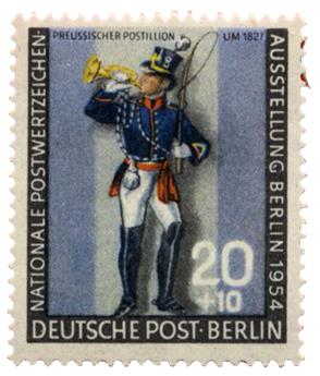 n°107** - Timbre Allemagne (Berlin) Poste