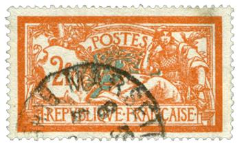 n°145c obl. - Timbre France  Poste