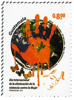 n° 717 - Timbre GUATEMALA Poste