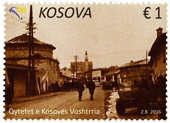 n° 200/201 - Timbre KOSOVO Poste