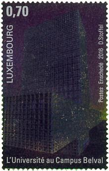 n° 2028 - Timbre LUXEMBOURG Poste