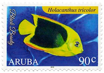 n° 889 - Timbre ARUBA Poste