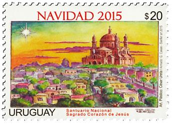 n° 2775 - Timbre URUGUAY Poste