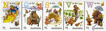 n° 4291/4295 - Timbre AUSTRALIE Poste