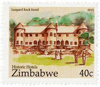 n° 784 - Timbre ZIMBABWE Poste