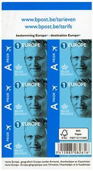 n° C4550 - Timbre BELGIQUE Carnets