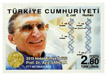 n° 3772 - Timbre TURQUIE Poste